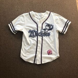 Disney MICKEY MOUSE MICKEES Baseball Jersey